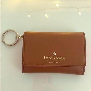 Kate Spade key chain mini wallet